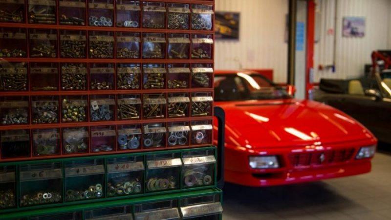 Naprawa Ferrari