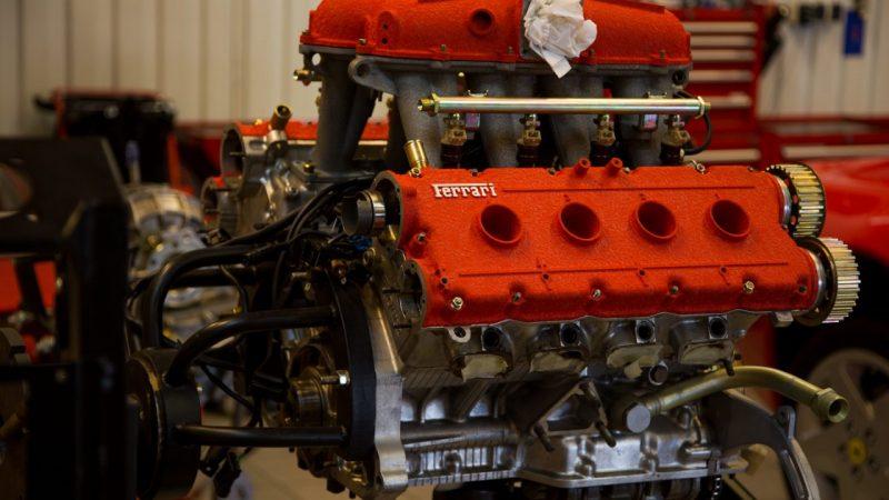 naprawa silnika ferrari