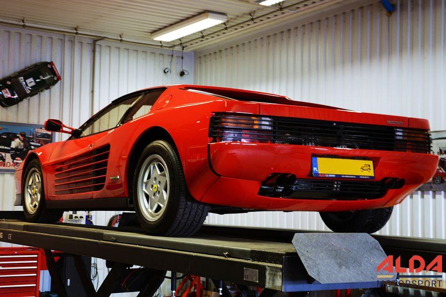 Ferrari serwis części przeglądy